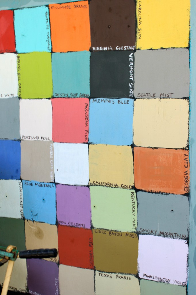 chalkboard paint in every color