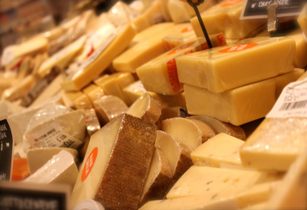 Whole foods cheese bar