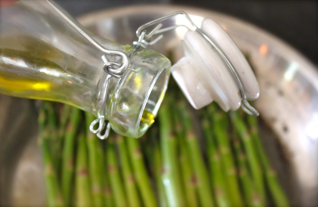 asparagus with olive oil