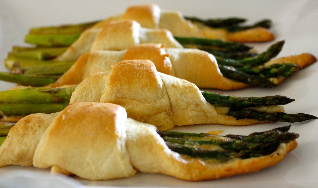 asparagus papoose appitizer
