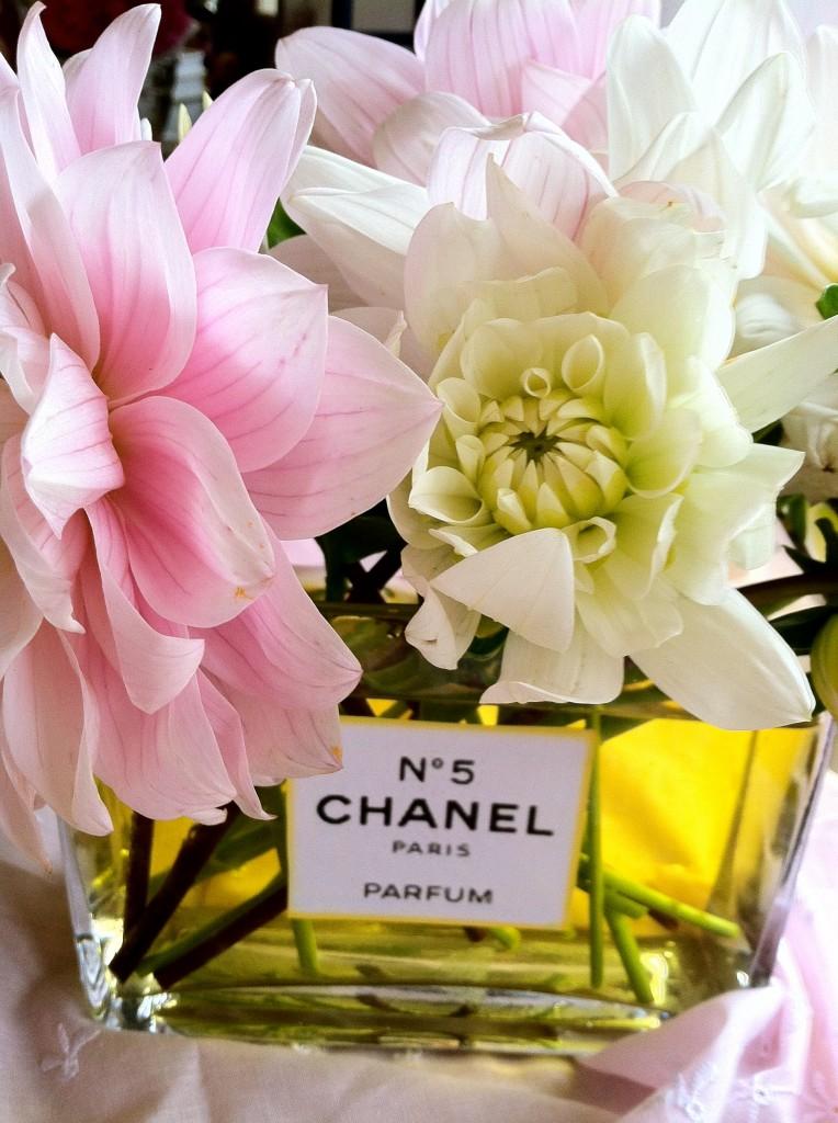 chanel floral arrangement