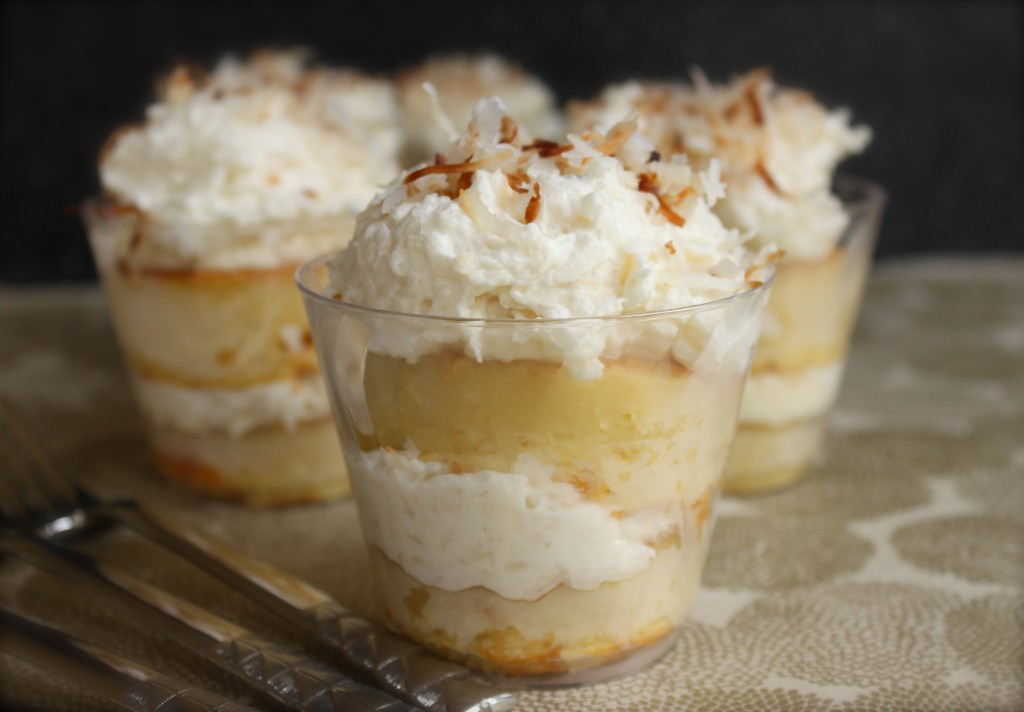 coconut cake cups