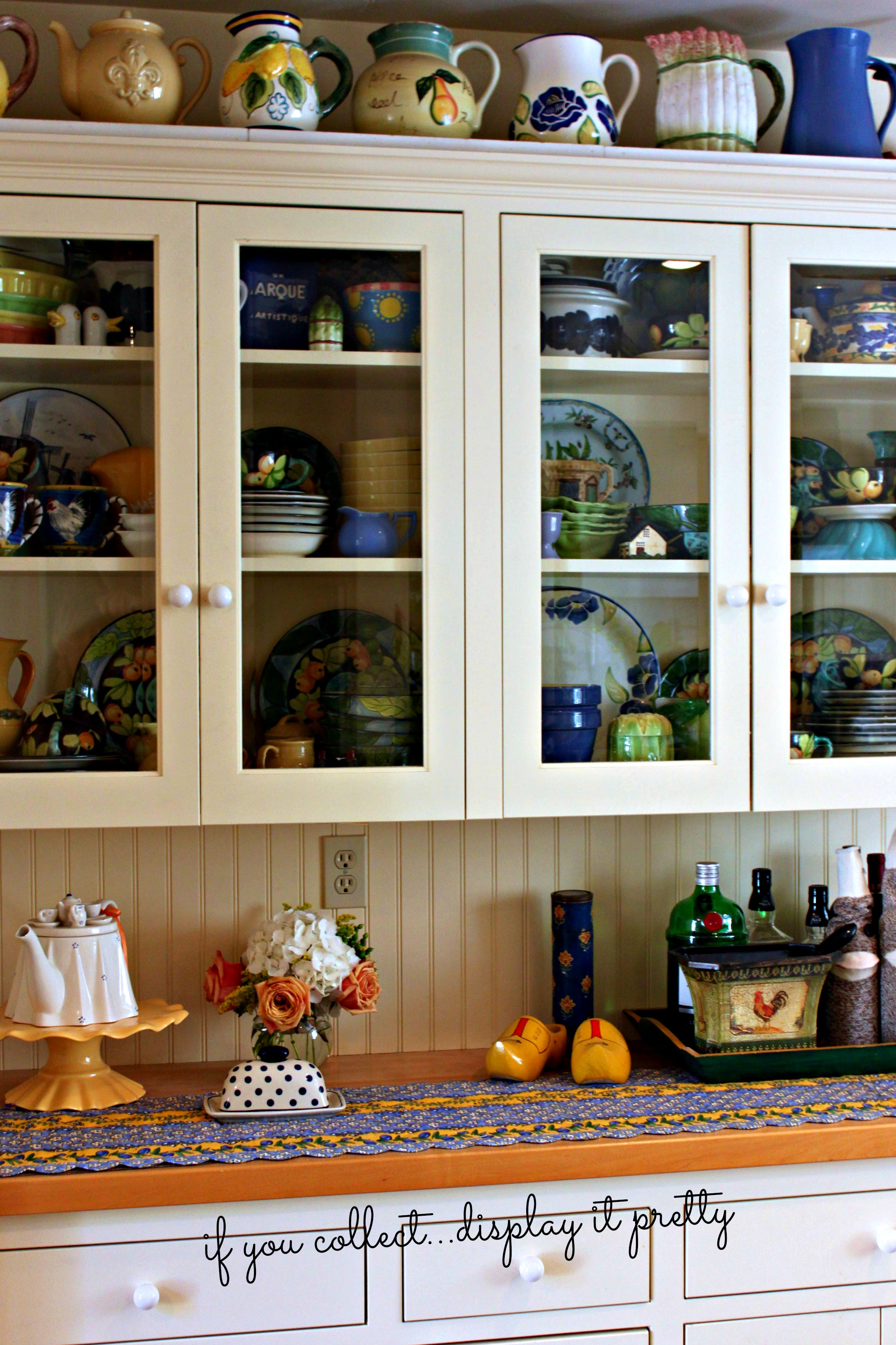easy hutch living windows stonegableblog com to room dish tips styled style stonegable a