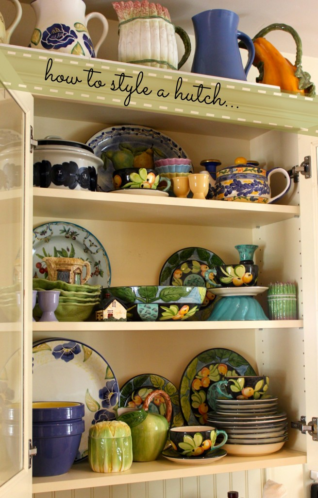 how to style a hutch