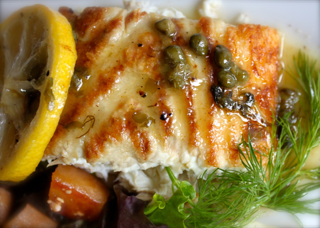 halibut picatta