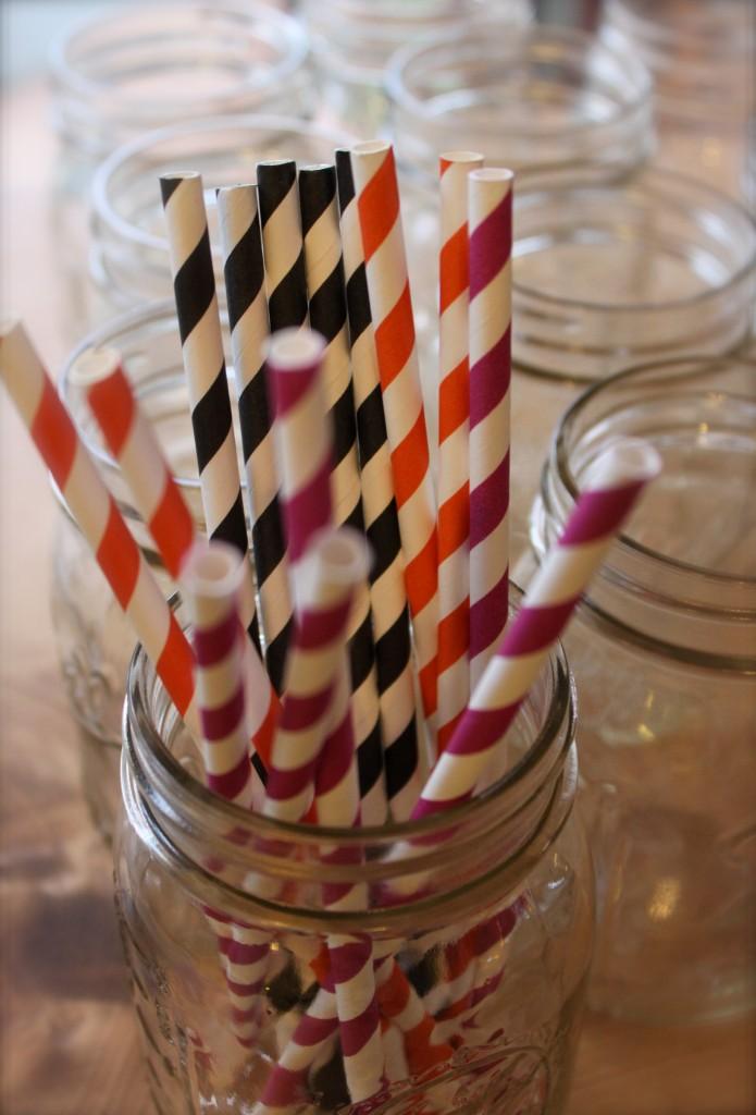 Halloween straws for margaritas