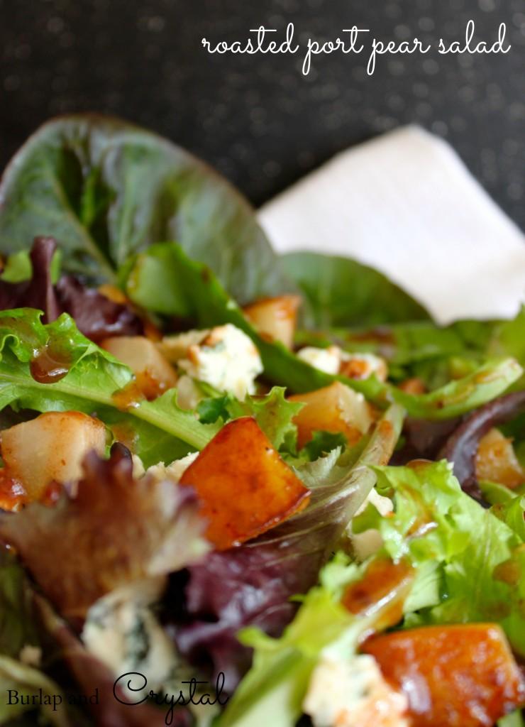 port pear salad
