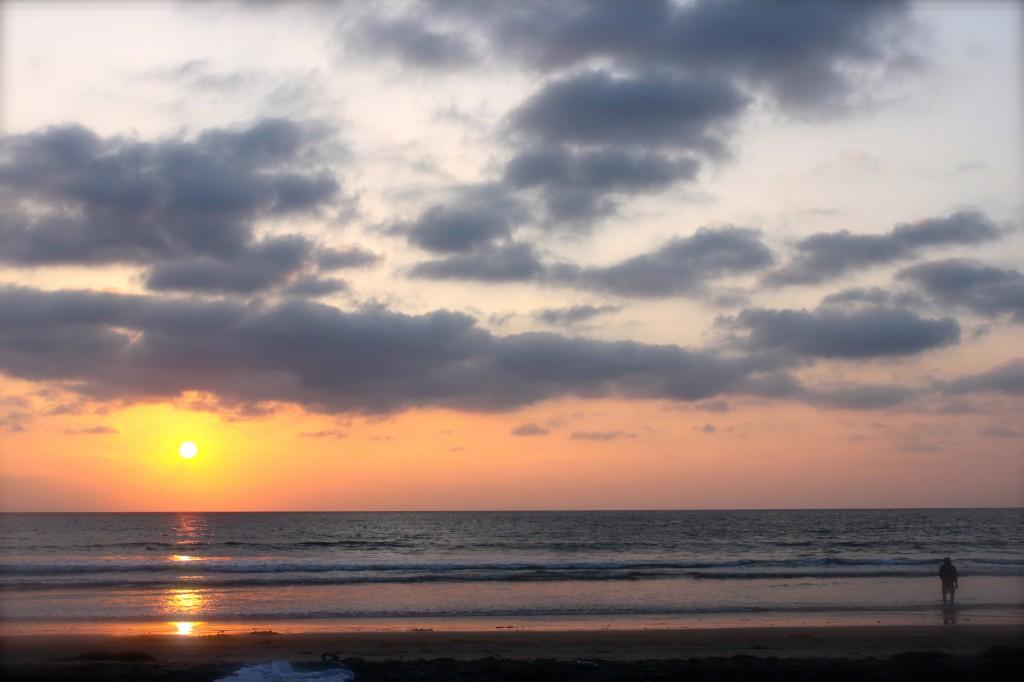 del mar sun set