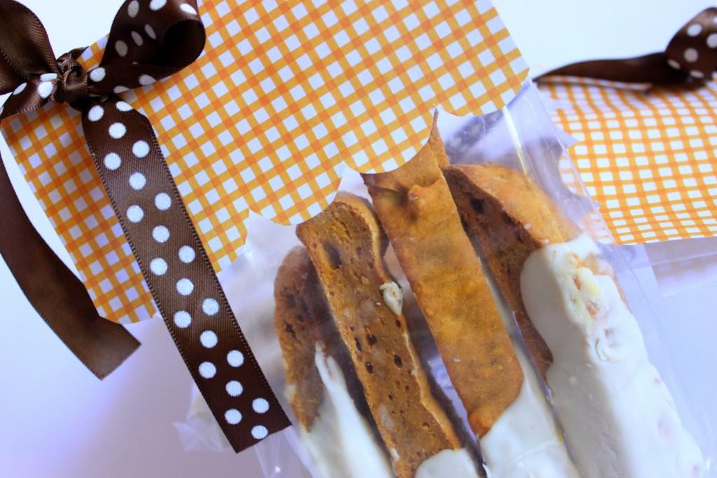 Pumkin biscotti