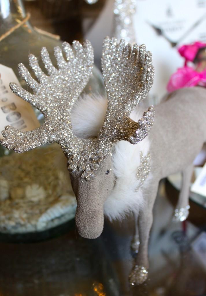Christmas moose decor burlap and crystal.com