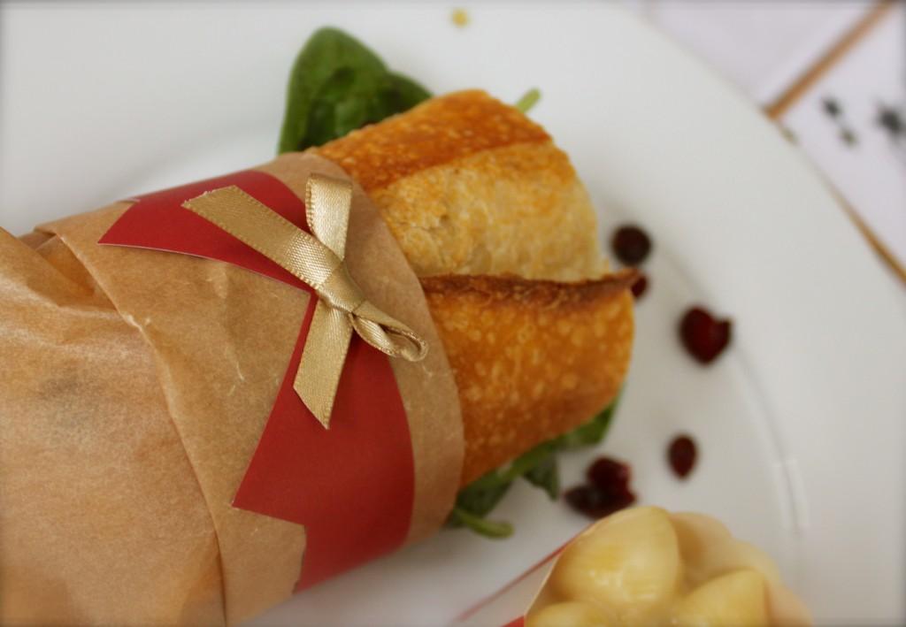 Veggie sandwich for the Oscars