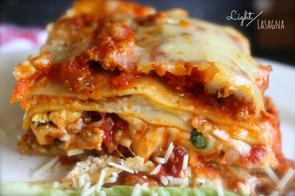 Light lasagna
