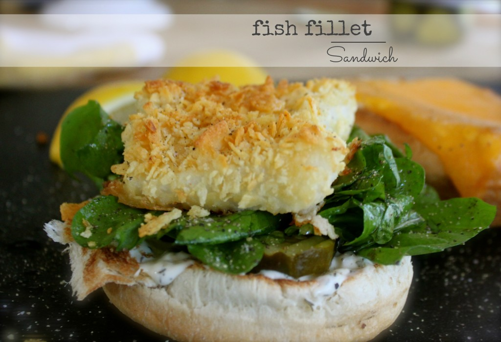 The ultimate fish fillet sandwich from Burlap and Crystal