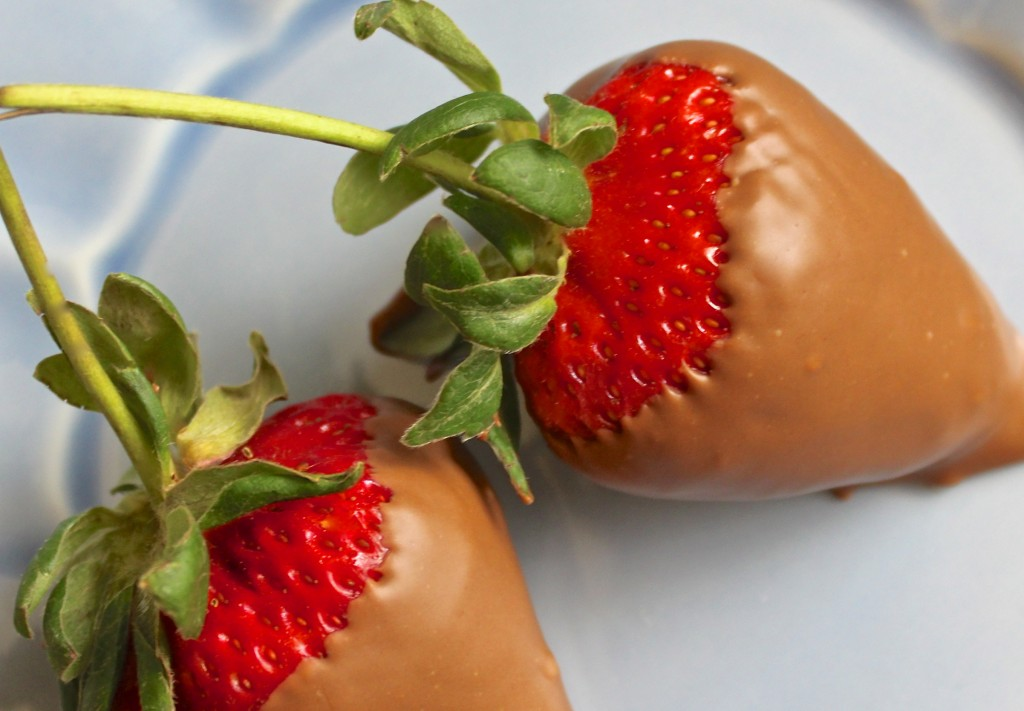 Hersheys chocolate covered strawberries