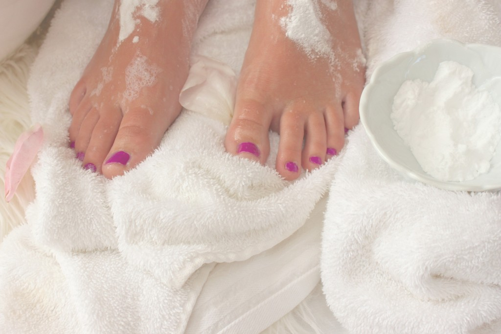 The secret to soft feet