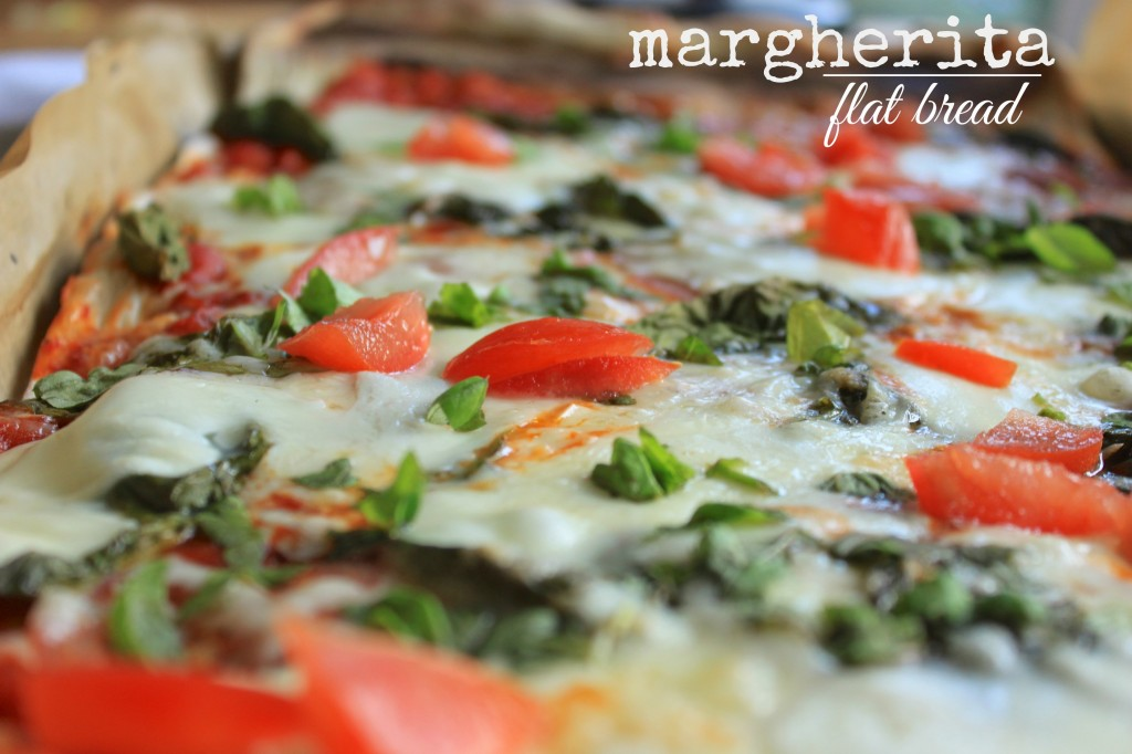 margaherita flat bread