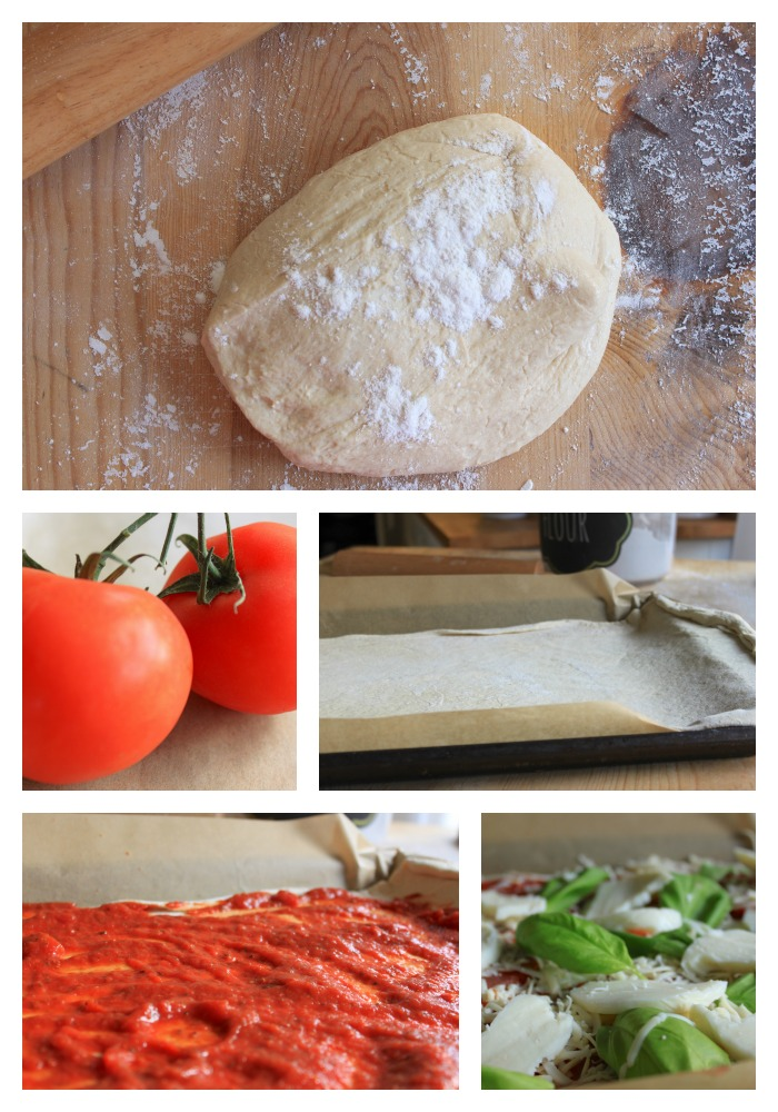 margherita flat bread 2