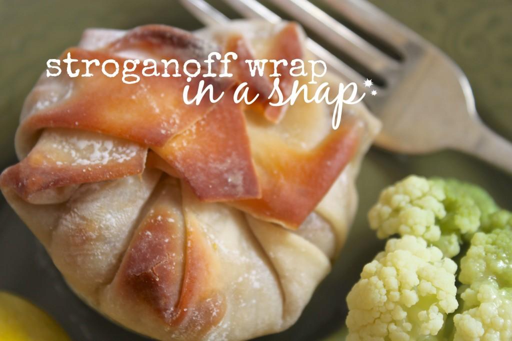 stroganoff wrap
