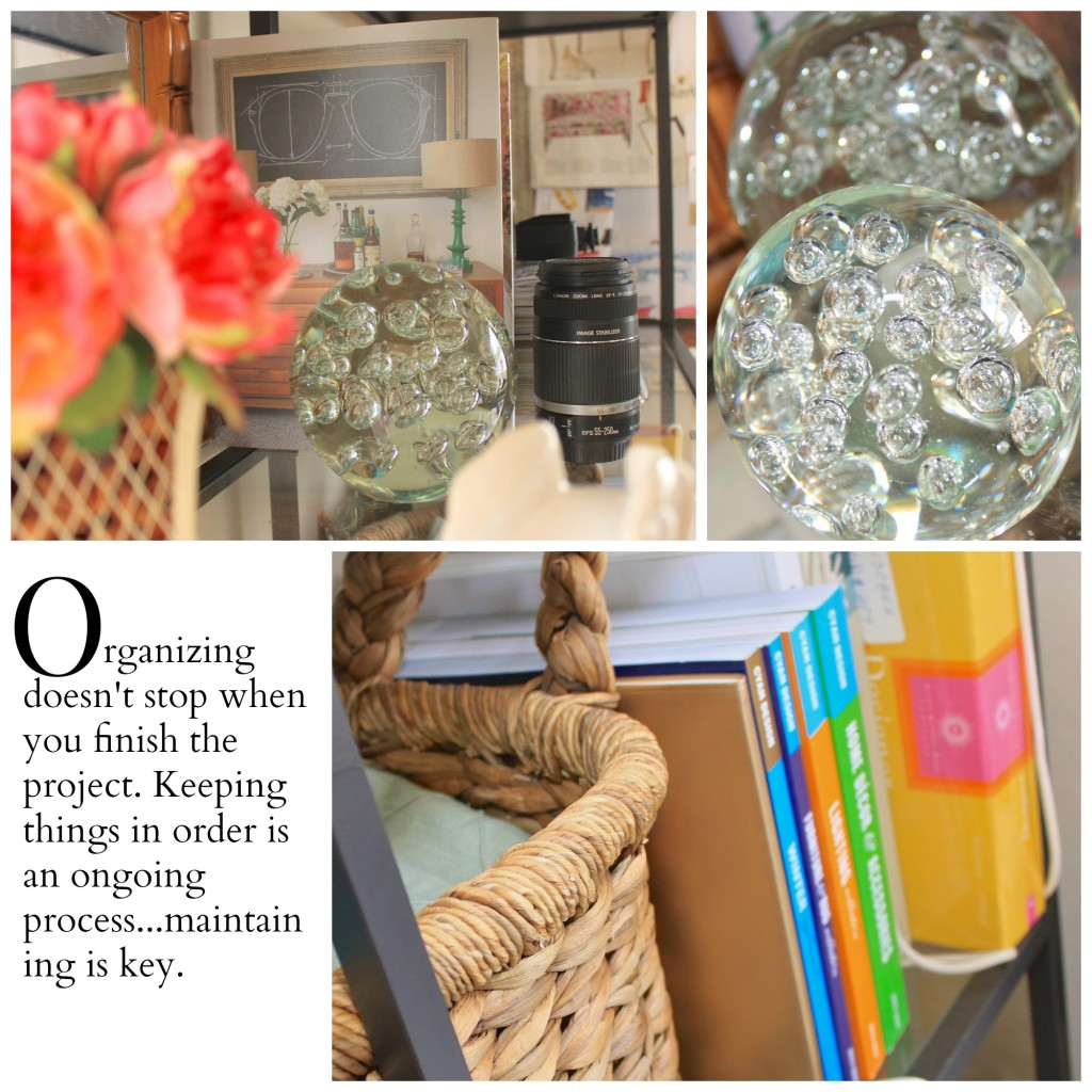 Organization with a little style from Burlap and Crystal