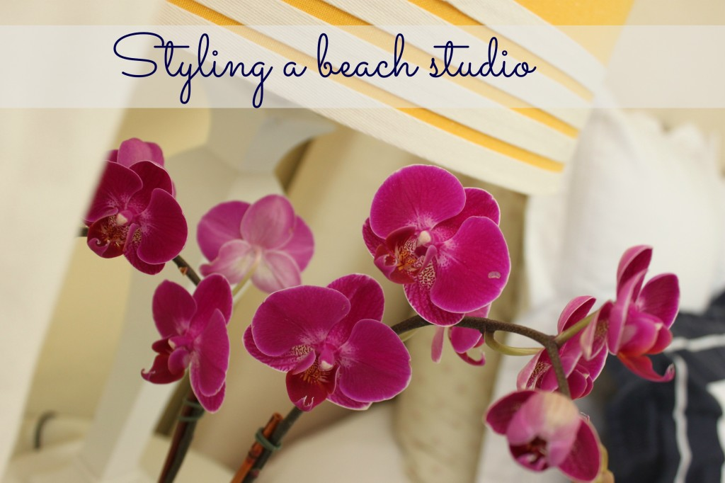styling a beach studio