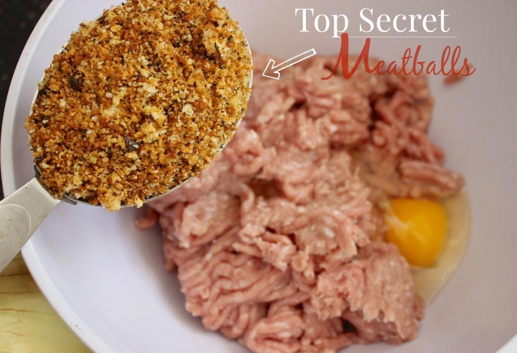 top secret meatballs