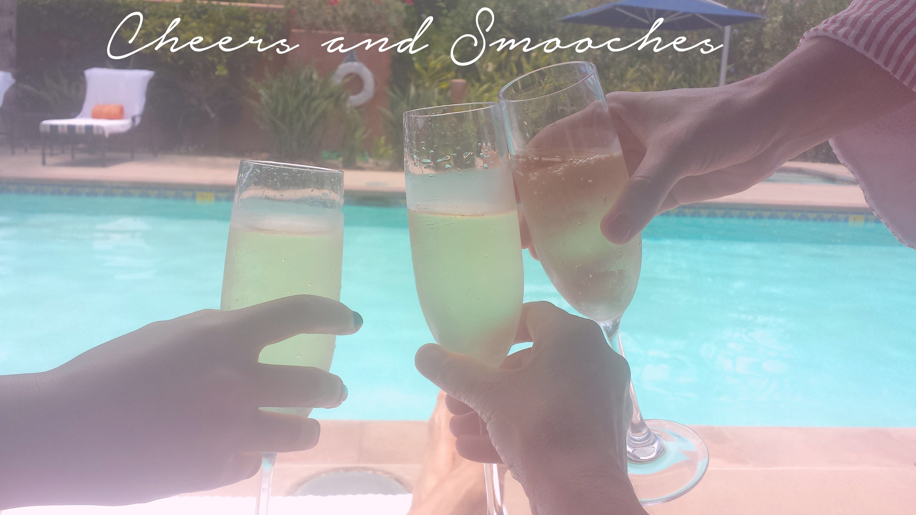 cheers and smooches