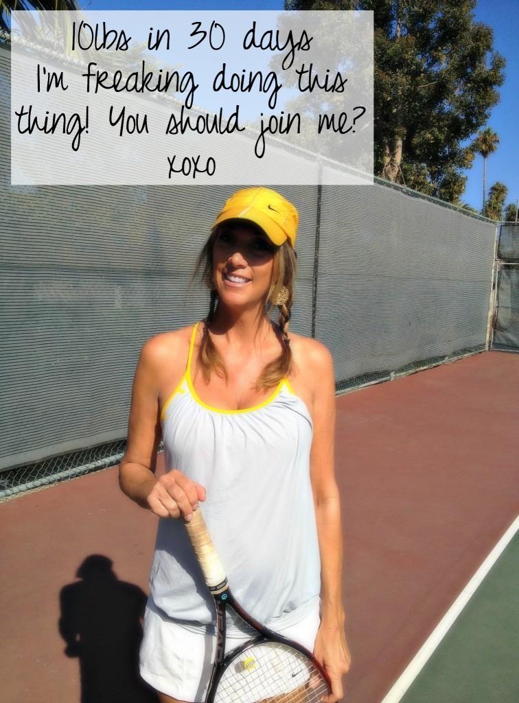 10 lbs me tennis