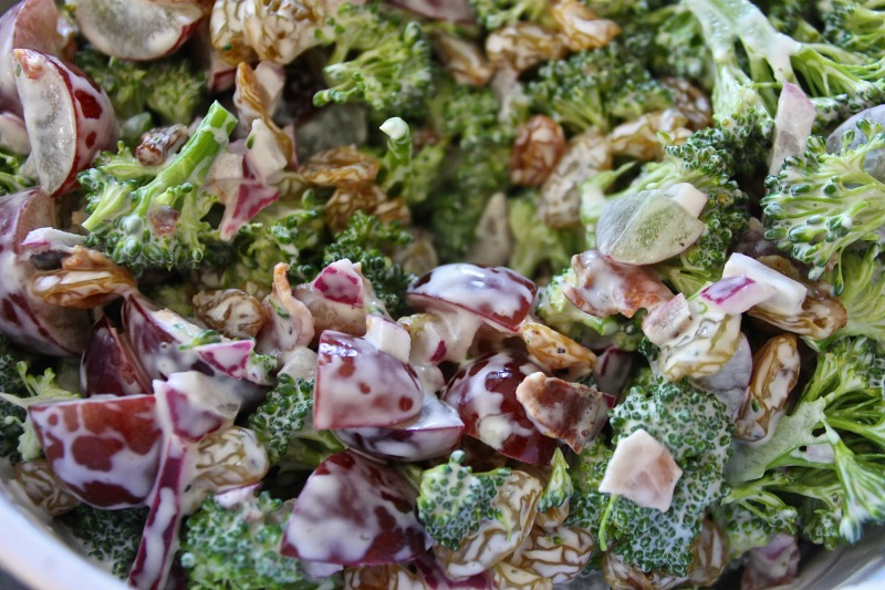 broccoli salad end