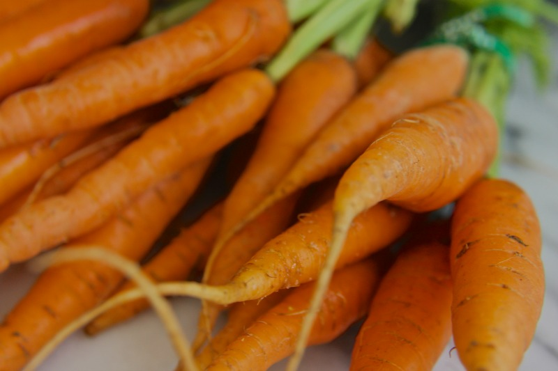 Organic carrots 2