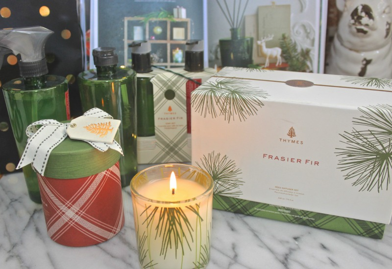 Thymes Holiday set in Frasier Fir...