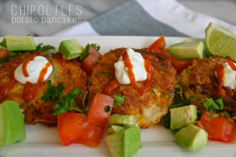 Chipoltles potato pancakes spicy yum