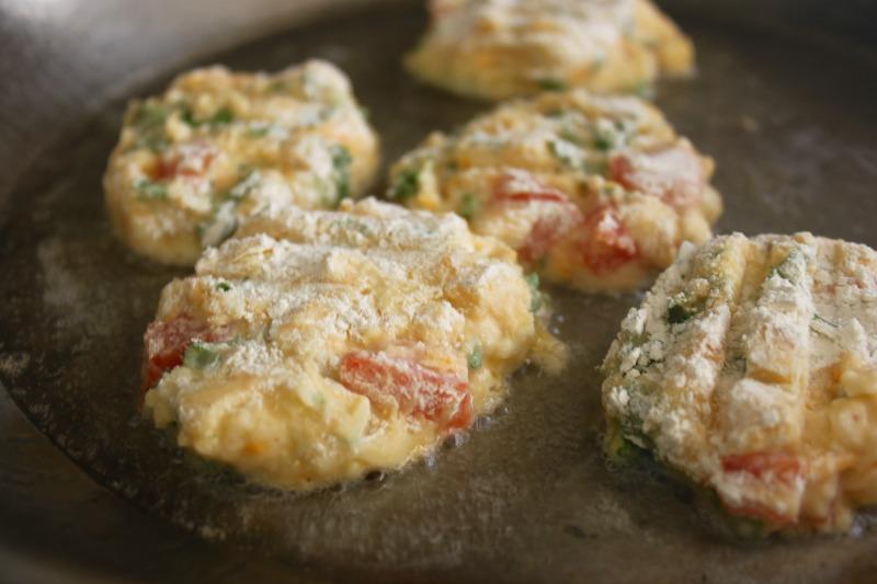 spicy chipoltle potato pancakes