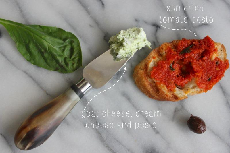sun dried tomato toast