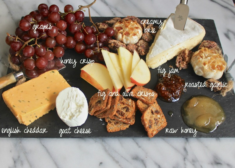 Map out the cheese board