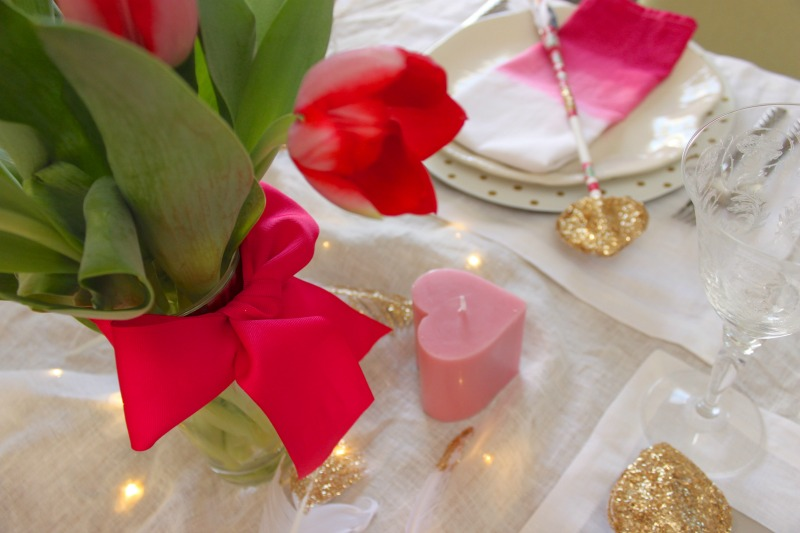 Setting cupid's table
