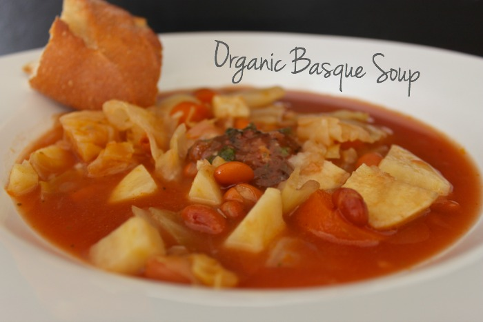 basque soup close up
