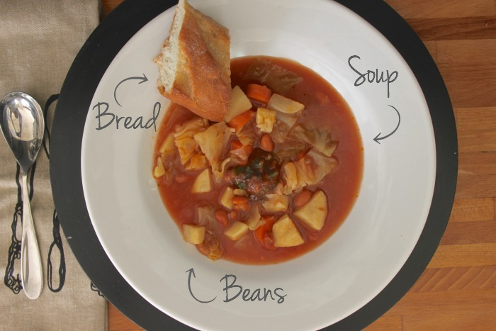 soup beans bread