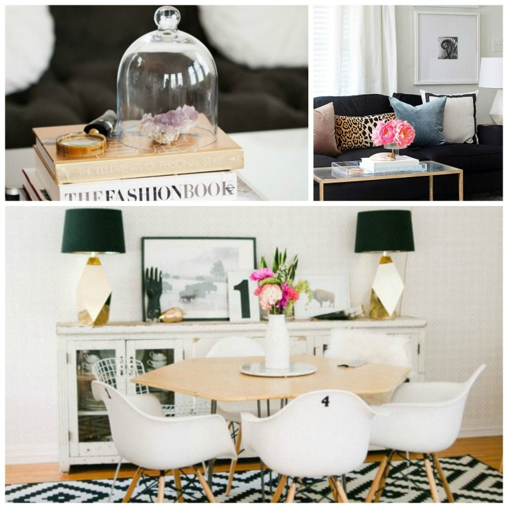 styling rooms that flow together