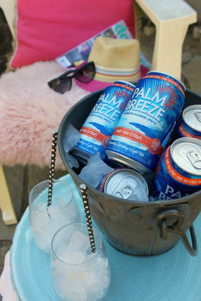 Palm Breeze Staycation time. @drinkpalmbreeze #VacayEveryDay #DrinkResponsibly #ad