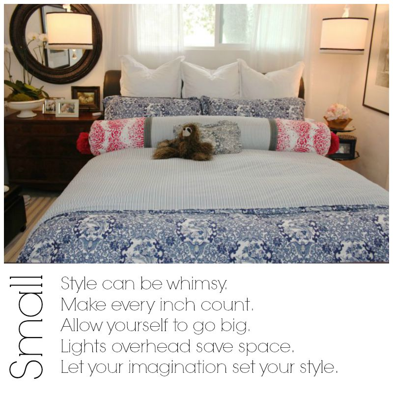 Small space tips and tricks.