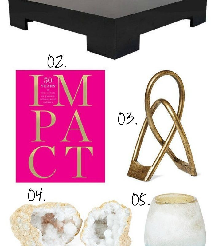 Style and the perfect coffee table